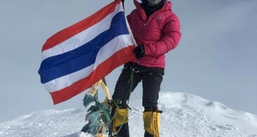 Тайская дантистка покорила 7 высочайших гор планеты.